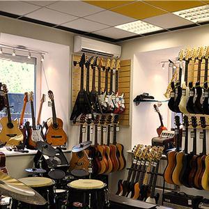 Музыкальные магазины Ельцовки
